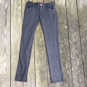 Alice + Olivia Gray Pants Trousers size 4